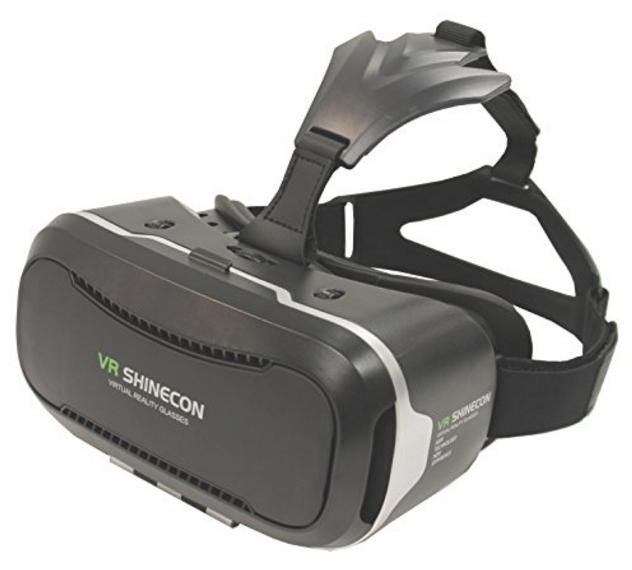 Vr Shinecon Virtual Reality Headset 3d Glasses Review 2017 2018
